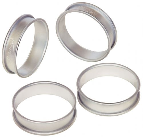 Samuel Groves Mermaid Aluminium Crumpet Rings (4)